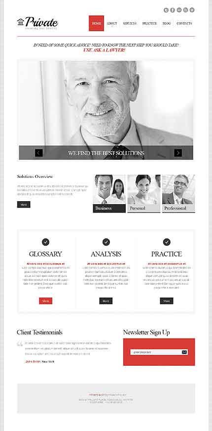 Bootstrap Cherry Framework Responsive WordPress Theme