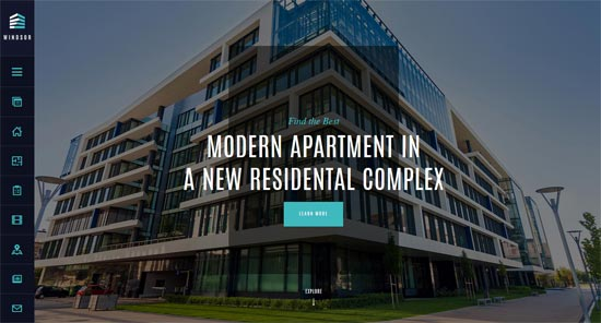 windsor apartment single property theme