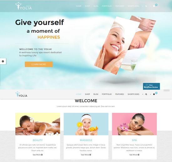 yolia-beauty-html-template