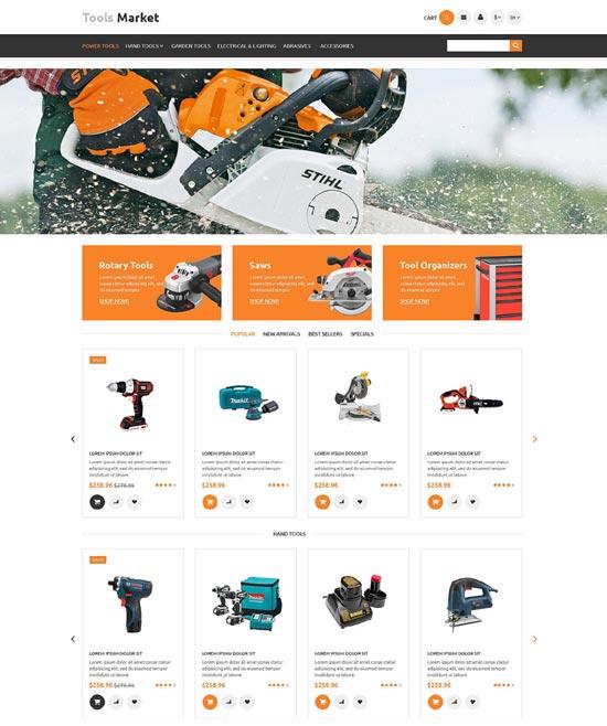 Tools Market Prestashop Theme