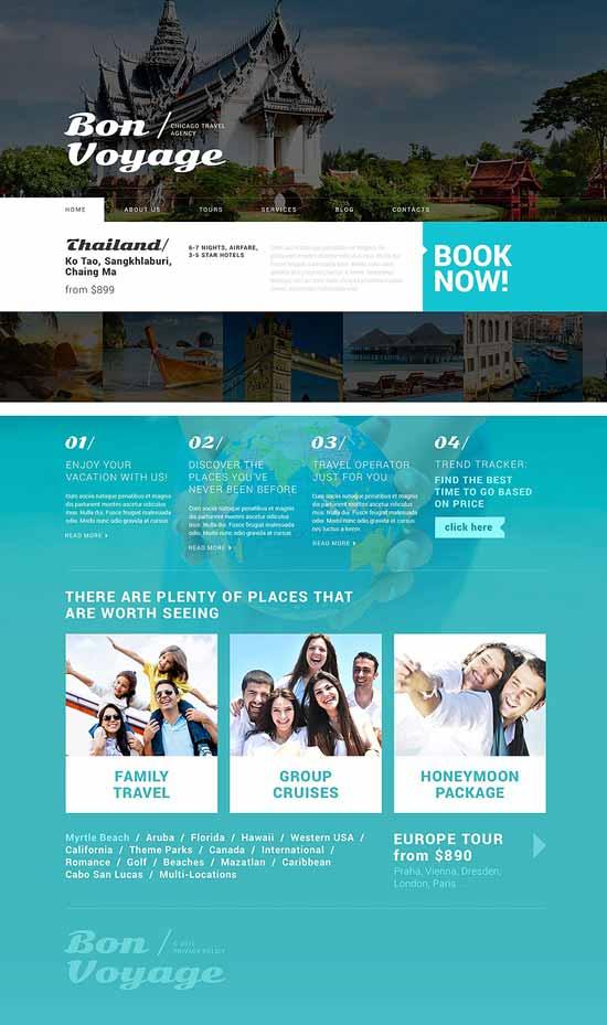 Tour Operator - Travel WordPress theme