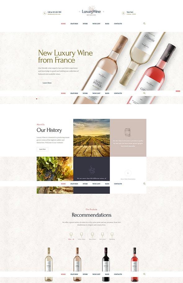 Luxury Wine | Wine House, Winery & Wine Shop