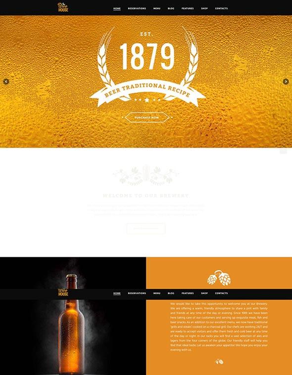 The Brew House | Brewery / Pub / Restaurant Theme